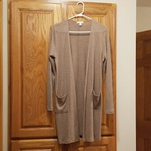 Light weight BP duster cardigan